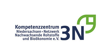 Logo: Kompetenzzentrum 3N, Niedersachsen, Netzwerk Nachwachsende Rohstoffe und Bioökonomie e.V.