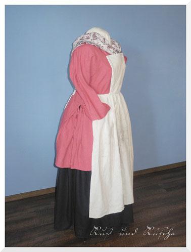 18. Jahrhundert manteau de lit und schürze