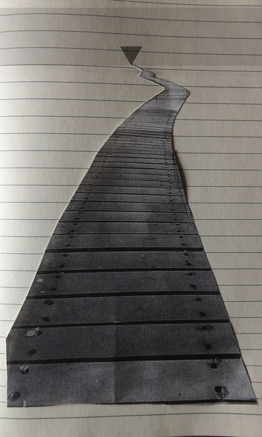 Eigene Wege auf dem Papier