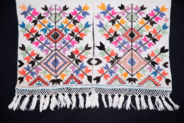 Embroidery at Ivan Honchar Museum