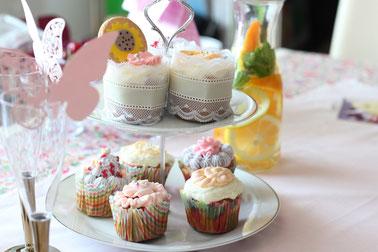 ラブリーカップケーキ