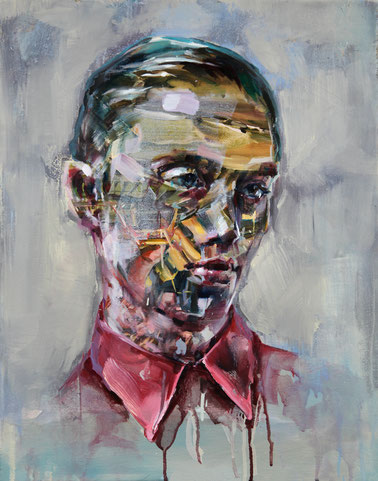 melchior, 50 x 40 cm, oil on linen, 2015