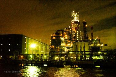 工場夜景撮影もお楽しみいただきました