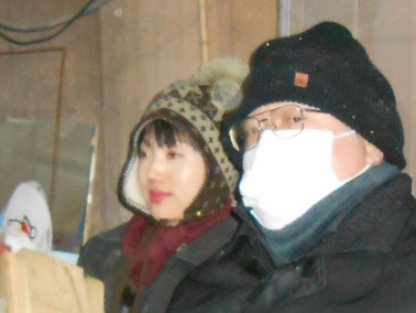 HiroshiMochida先生とYukiTachibana