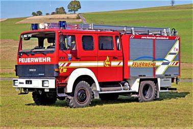 Feuerwehrfahrzeug Beklebung