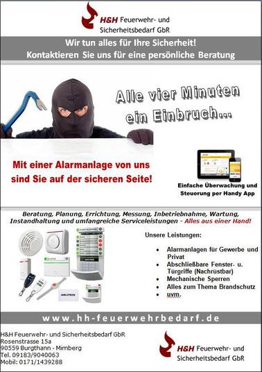 Unser Flyer rund um das Thema Sicherheit und Einbruchschutz