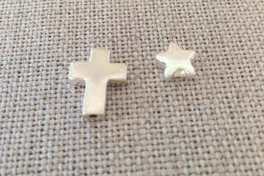 Intercalaires croix bombée étoile bombée