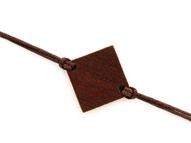 Armband Armbändchen Zwetschkenholz Bella