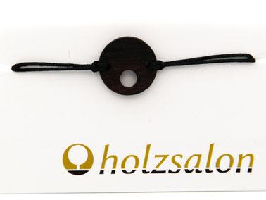 Armband Armbändchen Ebenholz schwarz Leoni