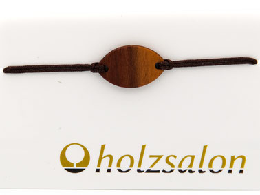 Armband Armbändchen Zwetschkenholz Finja