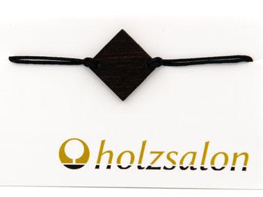 Armband Armbändchen Ebenholz schwarz Bella
