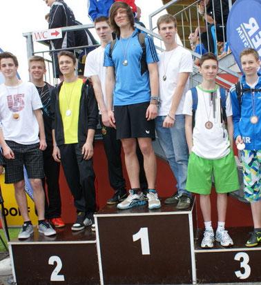 Staffel-Siegerehrung 2014