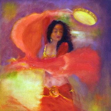 Tambourine Dancer