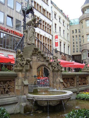 Der Kölner Heinzelmännchen-Brunnen