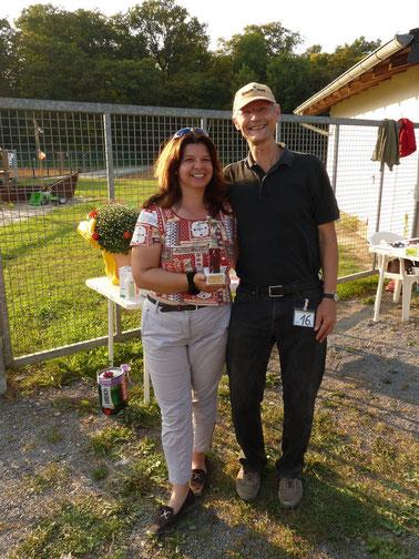 Siegerdoublette  Yvonne + Timo Retter starteten für die BINST e.V.