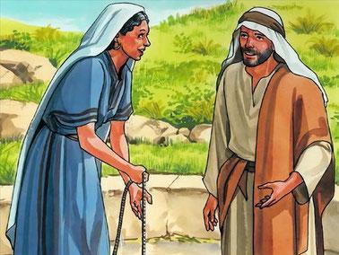 Jésus n'avait aucun préjugé et, alors que les Juifs méprisaient les Samaritains et évitaient de leur parler, il s'est adressé à une femme samaritaine en lui dévoilant qu'il était le Messie attendu. Jésus a tendu la main aux pécheurs qui étaient rejetés.