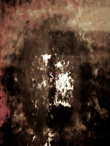 Totem, Acryl auf Karton, 70x50, 2014