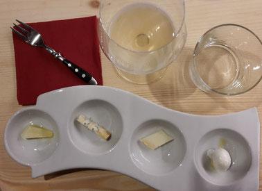 Käse Tasting im Restaurant Rimessa Roscioli Rom
