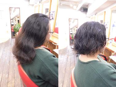 くせ毛カット | 長め重めはまとまらないスタイル(髪型)横浜で人気の美容室YUME-YUI~夢結~