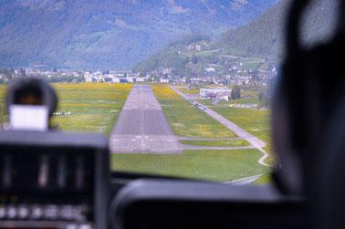 LSMF Anflug auf RWY 01