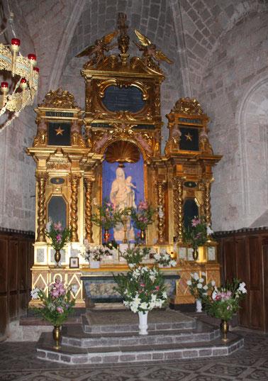 Bild: Altar von Kapelle Notre-Dame-de-Beauvoir