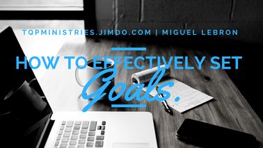 Click here for three keys on how to effectively set goals!