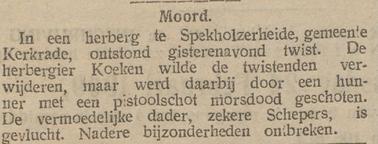 De Tijd : godsdienstig-staatkundig dagblad 23-02-1909