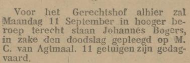 Provinciale Noordbrabantsche en 's Hertogenbossche courant 30-08-1916
