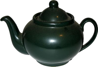 photo of a traditional British teapot
