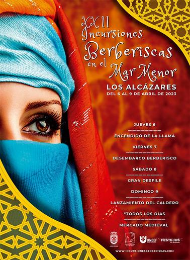 Cartel de las Incursiones Berberiscas en Los Alcázares