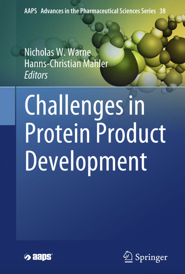 Photo of the book cover: Challenges in Protein Product Development