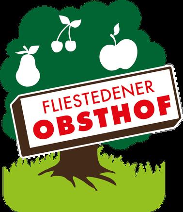 Das Logo vom Fliestedener Obsthof