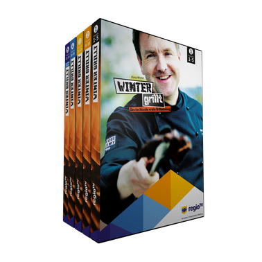 DVD-Box Winter grillt, Klaus Winter, Fernsehsendung, Regio TV