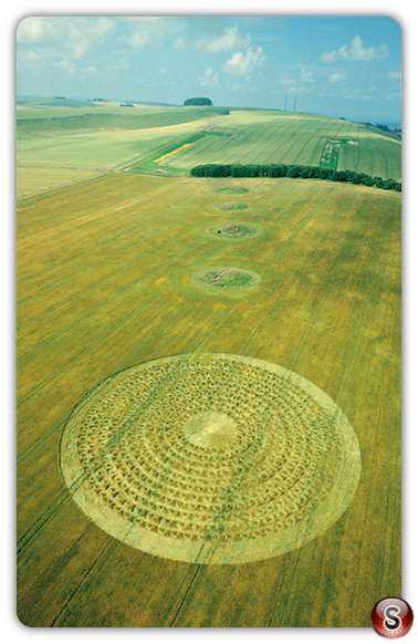Crop circles - North Down, Wiltshire 2003