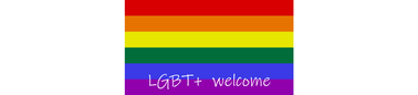 LGBT+ welcome