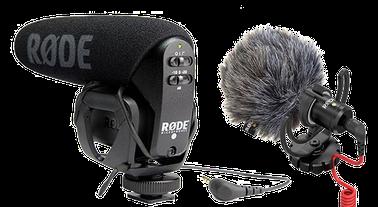 Röde pickups - micro shotgun microphone