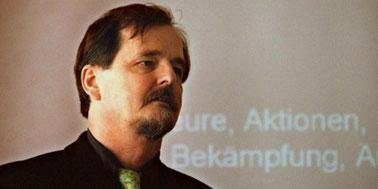 Helmut Roewer, præsident for efterretningstjenesten i Thüringen fra 1994 til 2000