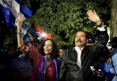 Nicaraguas præsident Daniel Ortega