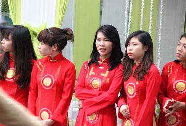 Cérémonie de mariage à Hanoi