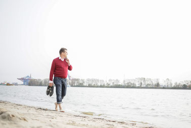Wandern beim Coaching mit Wolfgang C. Reschke