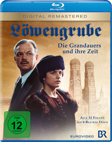 Löwengrube Blu-ray Cover