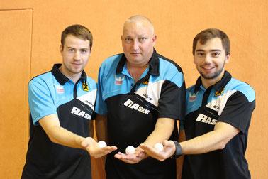 Martin Kinslechner, Tomas Janci und Michael Kufmüller funktionieren als Team. Die Konkurrenzfähigkeit zu den anderen Teams ist gegeben.