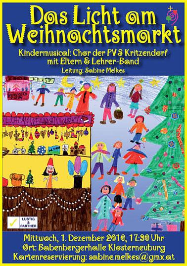 Kindermusical: Das Licht am Weihnachtsmarkt