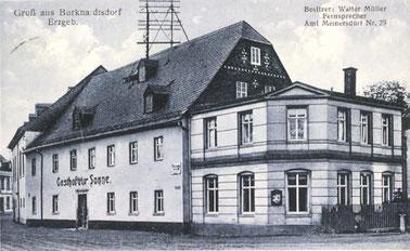 """Die """"Sonne"""" ca. 1920"""