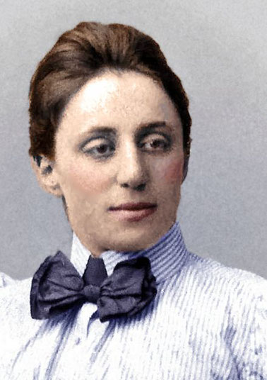 Foto: Emmy Noether; Quelle Wikipedia