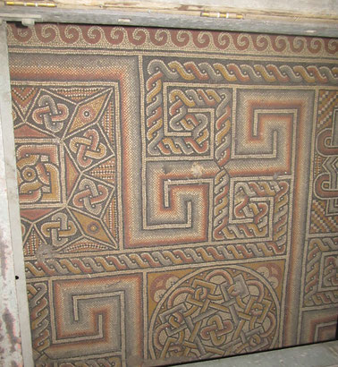The floor mosaics from the 4th century church