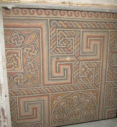 The floor mosaics from the 4th century church