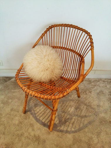 fauteuil rotin adulte vintage muros design et vintage. Black Bedroom Furniture Sets. Home Design Ideas