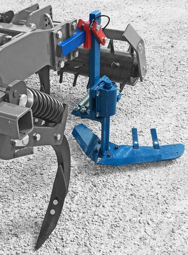 matériel agricole pages situé à castelnau le lez près de montpellier dans l'herault. Constructeur bineuse intercep mécanique à ressort pour le travail sous le rang.