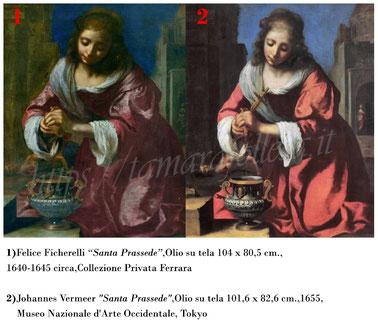 T.Follesa_Originali e copie_L'inganno della duplicità_Vermeer_Santa Prassede